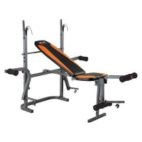 Скамья со стойками Body Sculpture BW-2810 H до 220кг - Интернет-магазин товаров для спорта, туризма и отдыха Спорт 96, Чебоксары